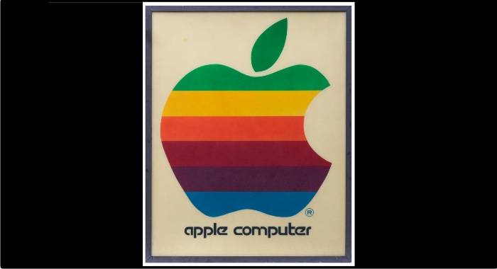 Cuadro Apple subasta