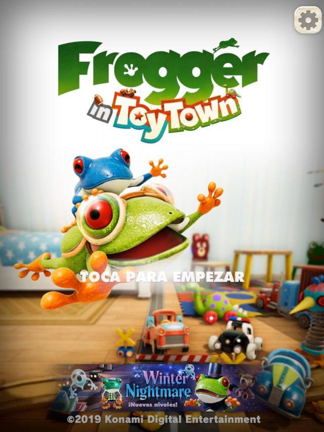 Inicio de Frogger tt