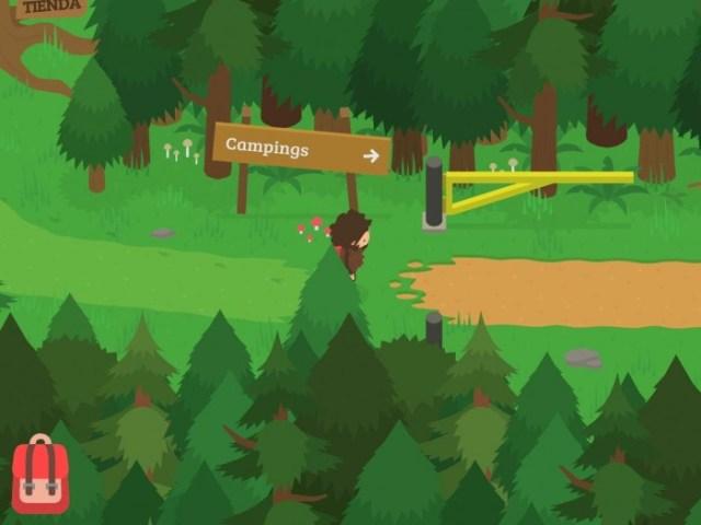 Gameplay de Sneaky Sasquatch