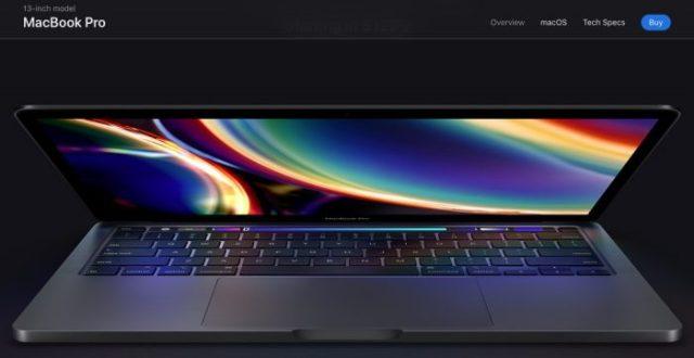 MacBook Pro 13 pulgadas 2020