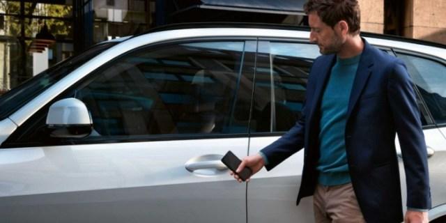 BMW con CarKey
