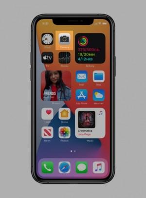 Cámara en iOS 14