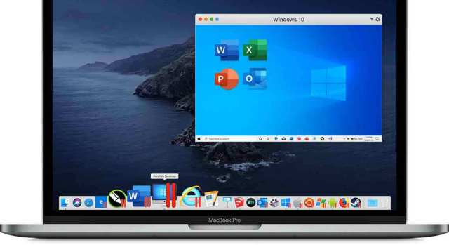 Parallels en Chrome OS