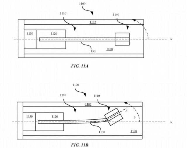 Mecanismo del cambio de peso Apple Pencil