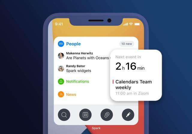 Spark Widgets iOS 14