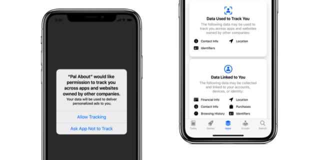 iOS 14 permisos de privacidad