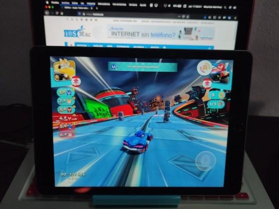Primera vuelta en Sonic Racing