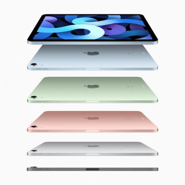 El diseño del nuevo iPad Air 2020 en cinco colores