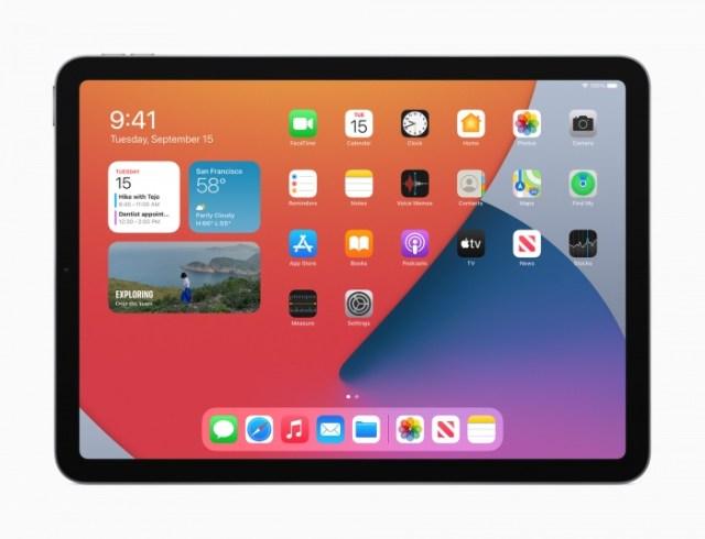 iPadOS 14 en el iPad Air