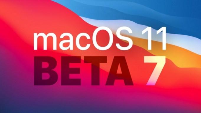 macOS Big Sur beta 7