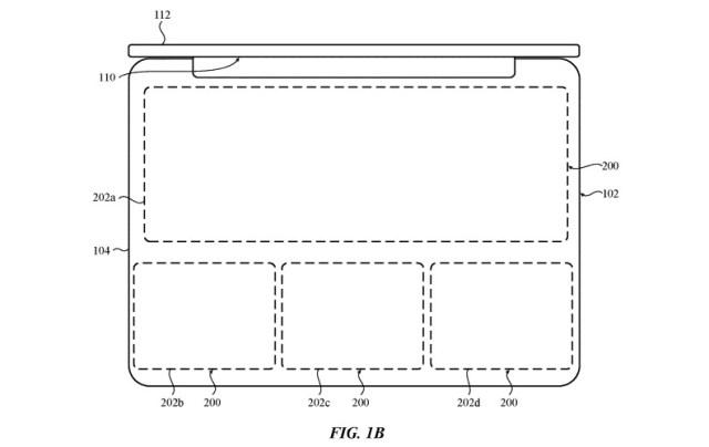 Patente sobre u teclado virtual