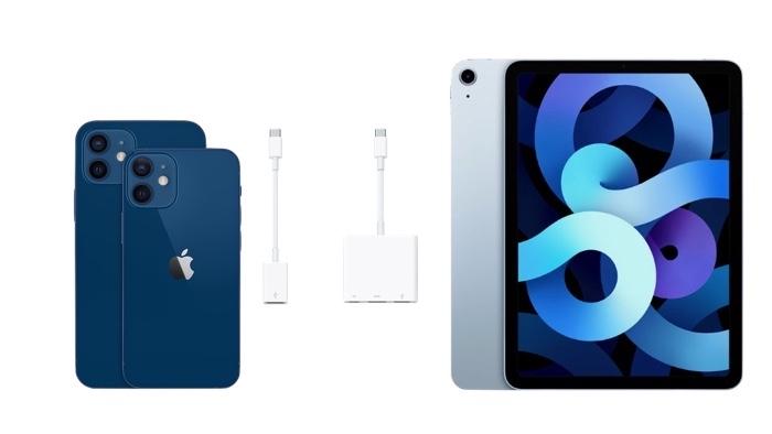 Adaptadores para conectar al iPhone o iPad
