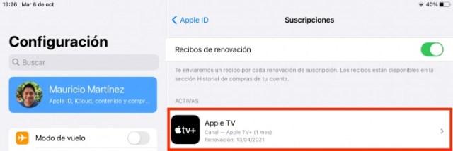 Apple TV+ Suscripción