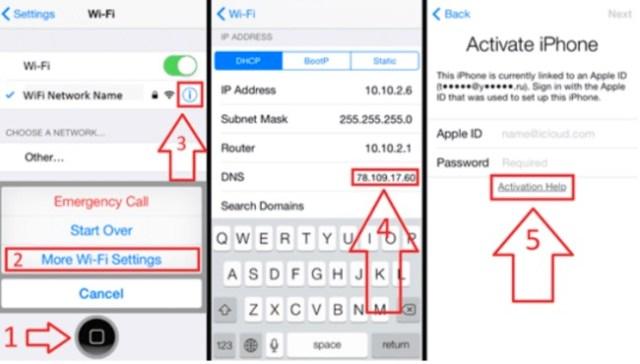 DNS desbloquear un iPhone