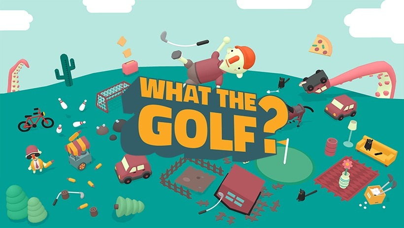 Portada WHAT THE GOLF?
