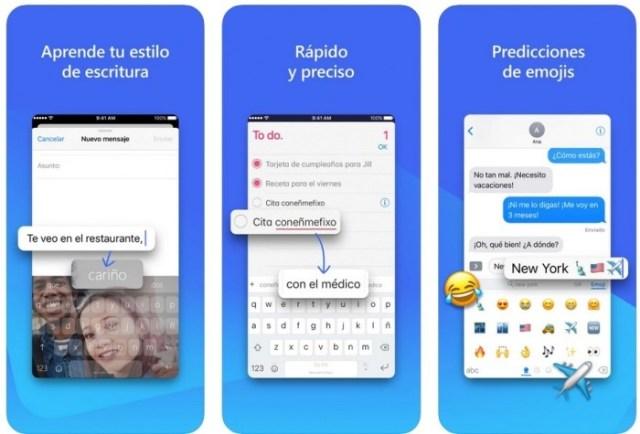 aplicaciones iOS SwiftKey