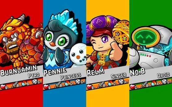 Personajes Zombie Rollerz