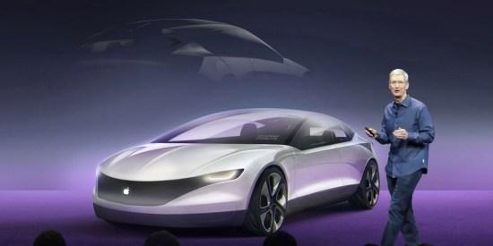 Rumores del Apple Car y bienvenida del CEO de Volkswagen a los nuevos competidores