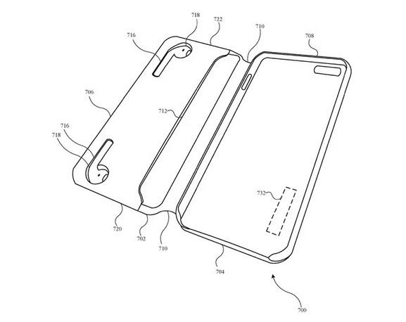Funda protectora para iPhone y AirPods (patente)