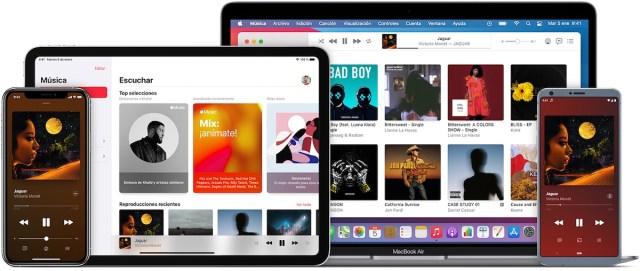 Reproducir Apple Music en diferentes dispositivos