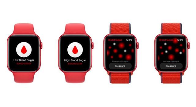 Apple Watch medicion sangre