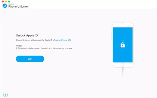 Confirmar eliminar Apple ID