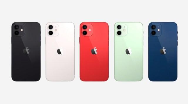 Gama de colores iPhone 12 mini