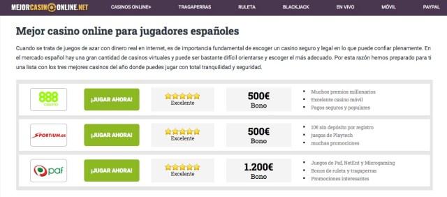 Mejorcasinoonline.net juegos de cartas y casinos para iPhone