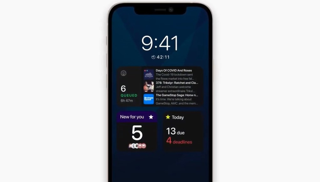 iPhone 13 Always on display