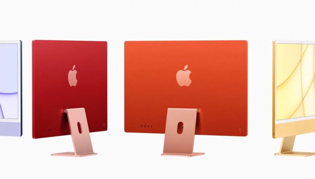 Apple anuncia un nuevo iMac de 24 pulgadas y colores