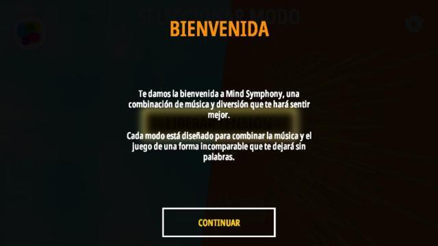 Mind Symphony bienvenida