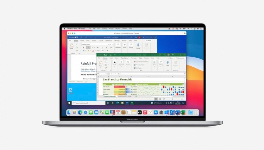 Parallels 16.5 compatoble con Apple Silicon