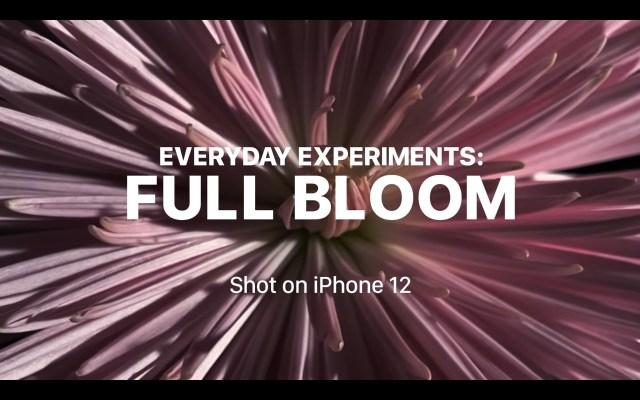 Experimentos con el iPhone 12