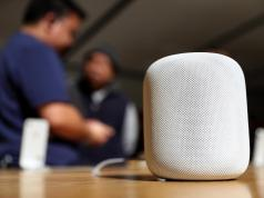 HomePod en Apple Store