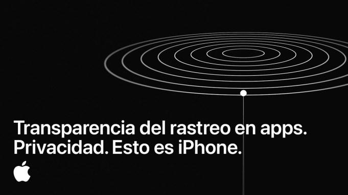 Rastreo de apps Apple