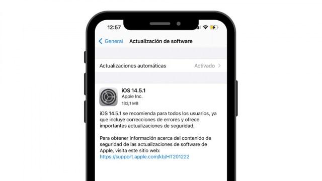 iOS 14.5.1 actualizacion