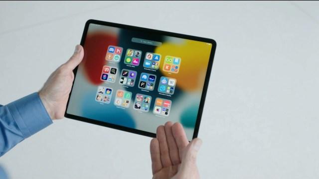 App Library iPadOS 15