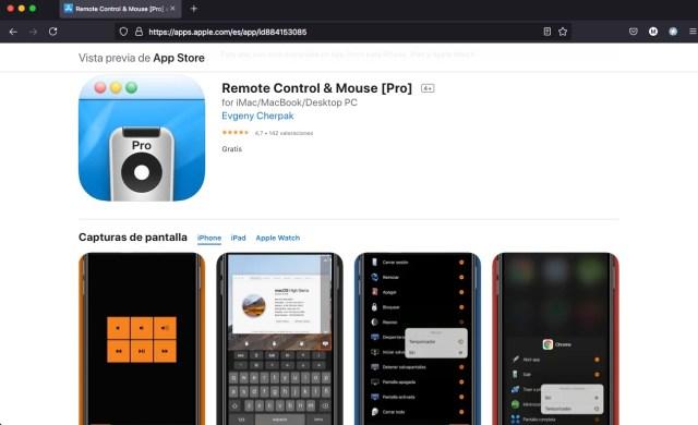 Apps y juegos gratis, Remote Control & Mouse