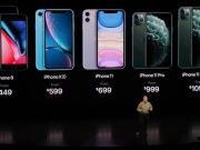 Nombres y precios de iPhone