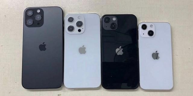 iPhone 13 posicion de camaras