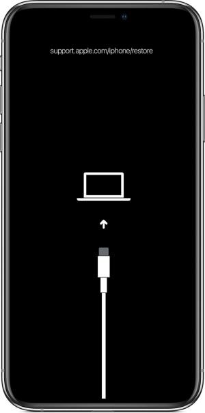 modo recuperacion en un iPhone