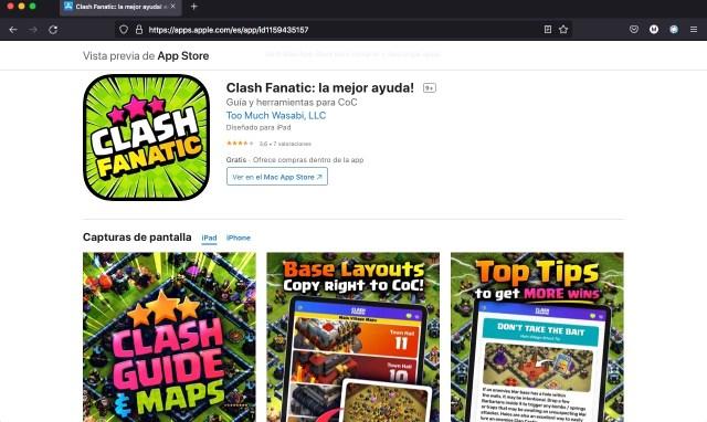 Apps y juegos gratis por tiempo limitado, Clash Fanatic