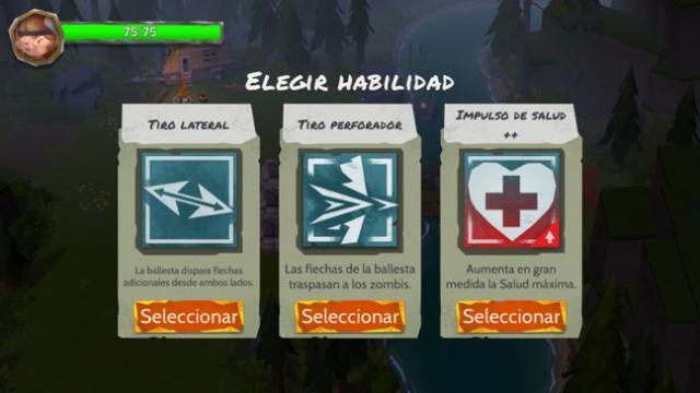 Habilidad nueva al finalizar nivel