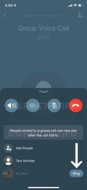 Nueva interfaz de llamadas WhatsApp