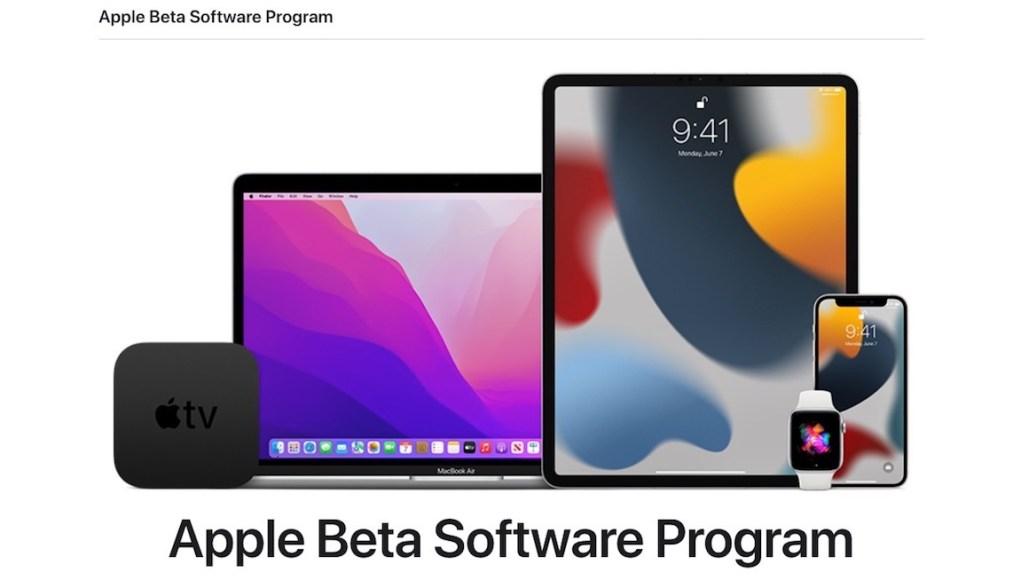 Programa de betas públicas de Apple iOS 15 y mas