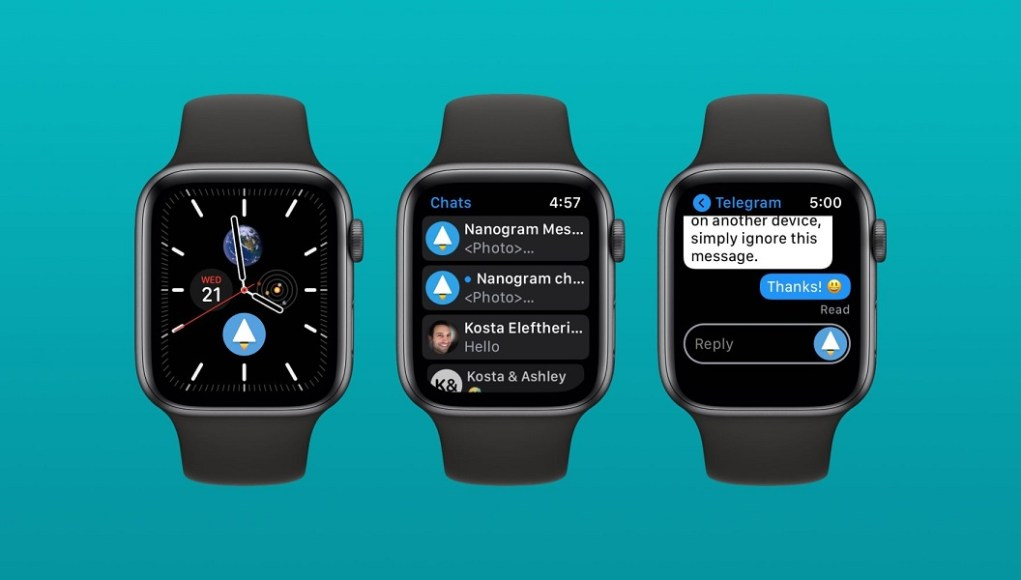 Nanogram para el Apple Watch