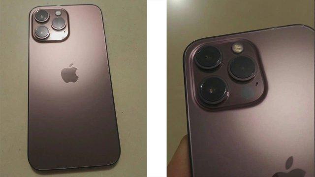 Una filtración muestra la parte trasera del iPhone 13 Pro