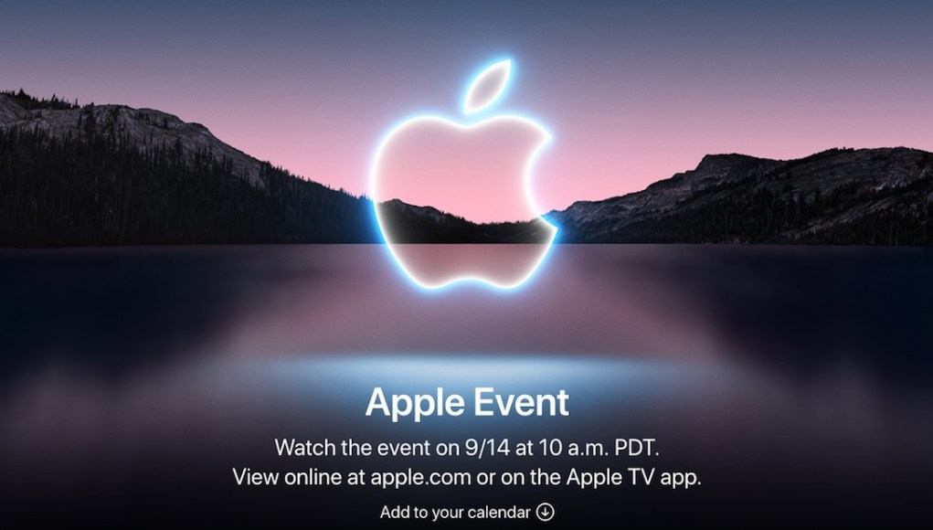 Poster Apple Event web
