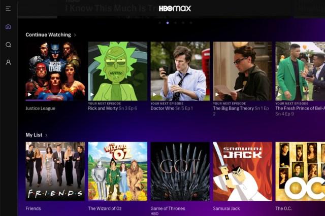 catalogo HBO Max