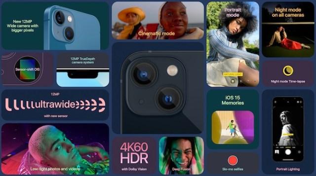 iPhone 13 especificaciones